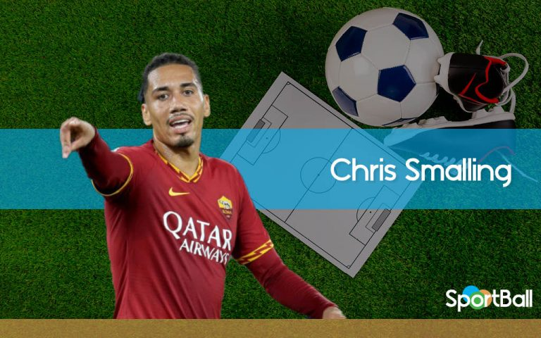 Chris Smalling renace en Roma
