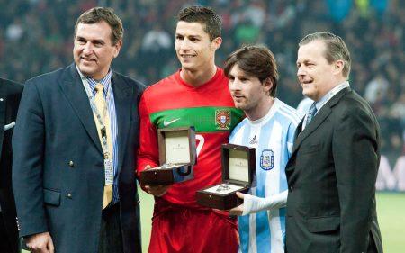 Cristiano Ronaldo y Messi, una rivalidad para la historia.