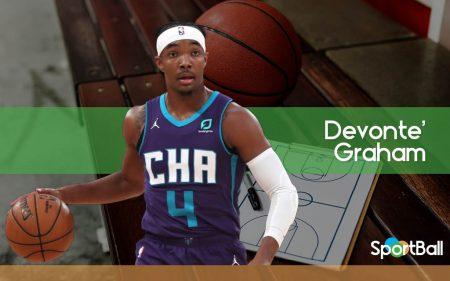 Devonte' Graham es la llave de Charlotte Hornets para llegar a playoffs