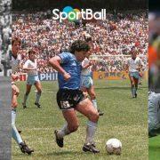 El balón pegado al pie: Cruyff, Messi, Maradona...