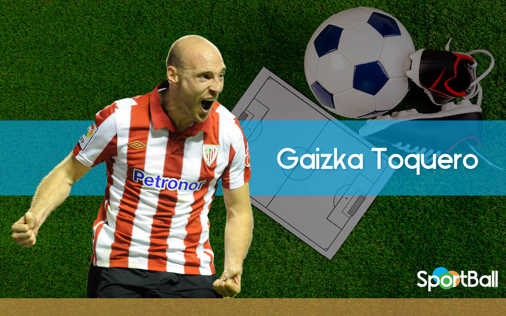 Gaizka Toquero, la imagen viva del fútbol vasco