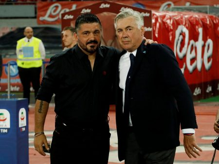 Gennaro Gattuso sustituye a Carlo Ancelotti como entrenador del Napoli.