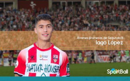 Iago López, con potencial para una categoría superior