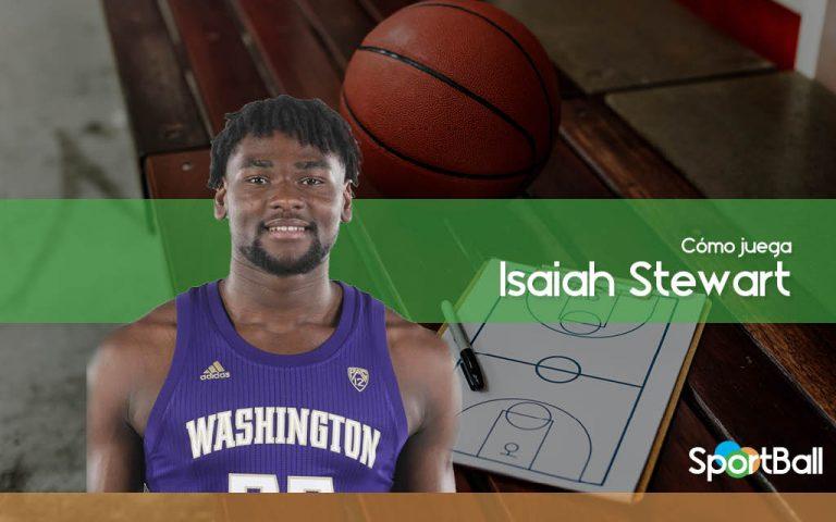 Cómo juega Isaiah Stewart y sus opciones en el Draft 2020