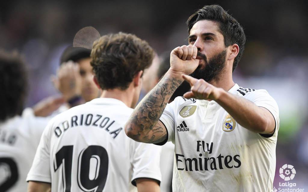 Isco vuelve a contar para Zidane