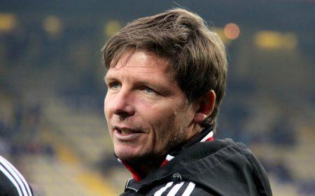 Oliver Glasner, mejor entrenador de la historia del LASK Linz.
