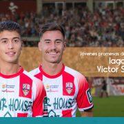 Las dos jóvenes promesas en la Unión Deportiva Logroñes