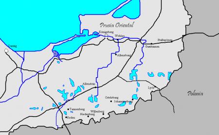 Territorios que componían Prusia.