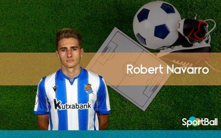 Jugadores jóvenes y promesas de la Real Sociedad: Robert Navarro