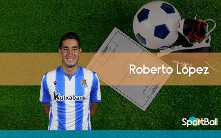 Jugadores jóvenes y promesas de la Real Sociedad: Roberto López