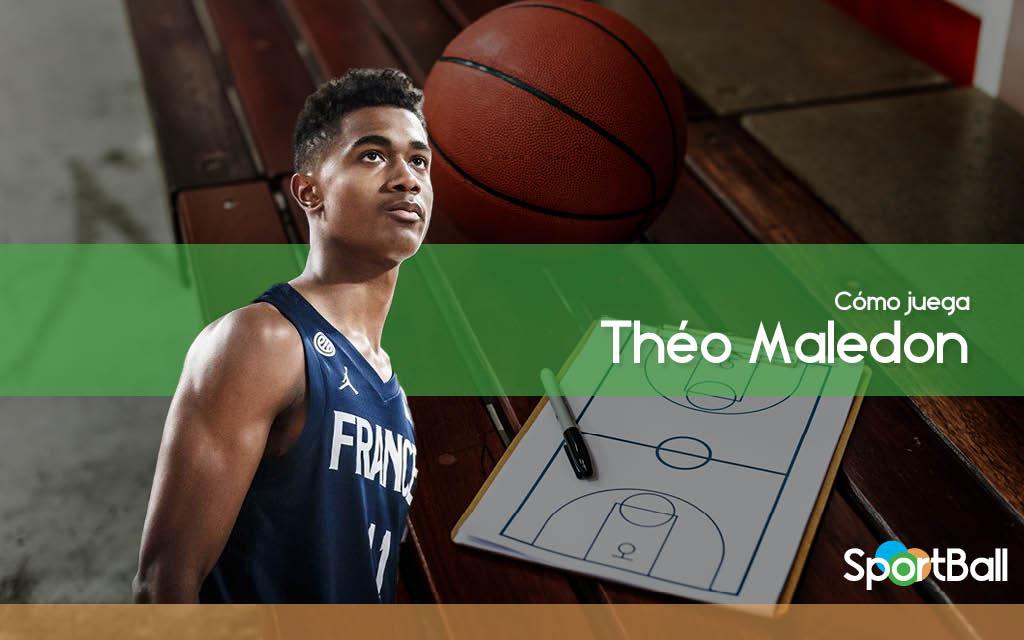 Cómo juega Théo Maledon y sus opciones en el Draft 2020