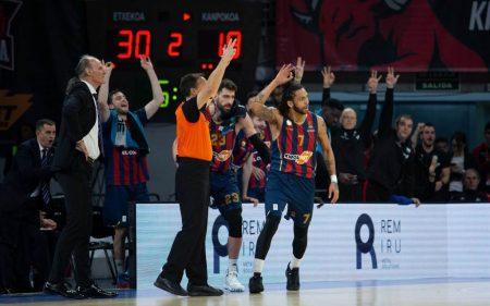 Baskonia paraliza al Barcelona gracias al efecto Ivanovic