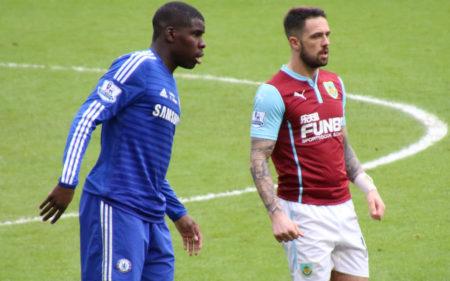 Danny Ings, en un partido con el Burnley.