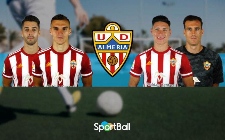 Jugadores y plantilla de la Almería 2019-2020