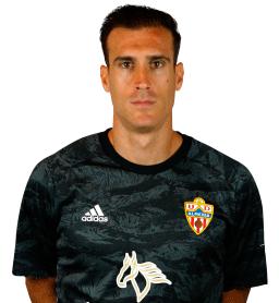 Jugadores y plantilla de la Almería 2019-2020 - Fernando Martínez