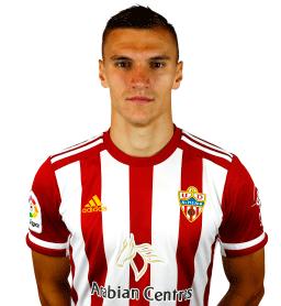 Jugadores y plantilla de la Almería 2019-2020 - Nikola Maras