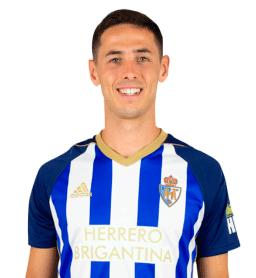 Jugadores y plantilla de la Ponferradina 2019-2020 - Asier Benito