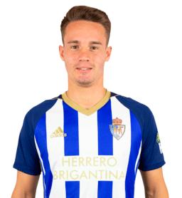 Jugadores y plantilla de la Ponferradina 2019-2020 - Pablo Larrea