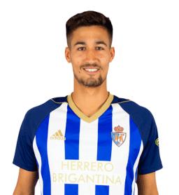 Jugadores y plantilla de la Ponferradina 2019-2020 - Pablo Trigueros