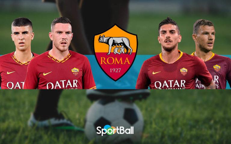 Jugadores y plantilla de la Roma 2019-2020