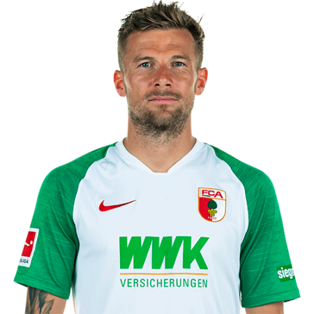 Jugadores y plantilla del Augsburgo 2019-2020 - Daniel Baier