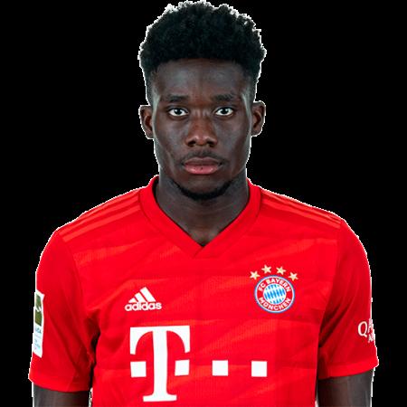Jugadores y plantilla del Bayern Munich 2019-2020 - Alphonso Davies