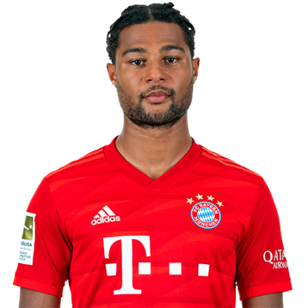Jugadores y plantilla del Bayern Munich 2019-2020 - Serge Gnabry