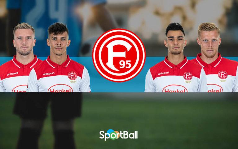 Jugadores y plantilla del Düsseldorf 2019-2020