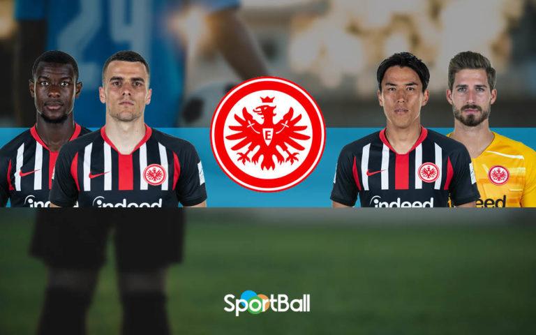 Jugadores y plantilla del Eintracht Frankfurt - 2019-2020