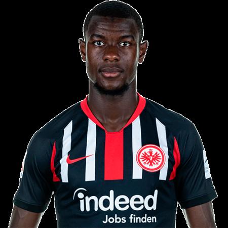 Jugadores y plantilla del Eintracht Frankfurt - 2019-2020 - Evan N'Dicka