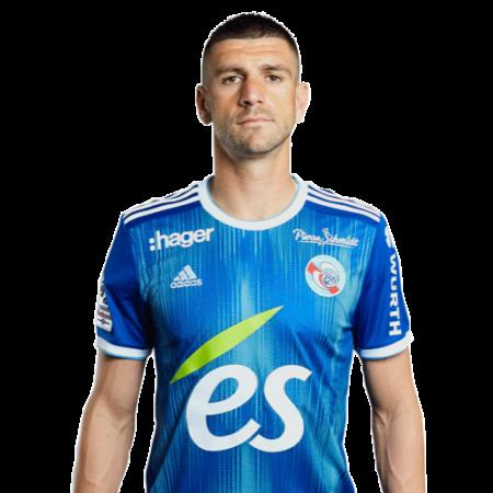 Jugadores y plantilla del Estrasburgo 2019-2020 - StefanMitrović