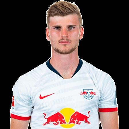 Jugadores y plantilla del Leipzig 2019-2020 - Timo Werner