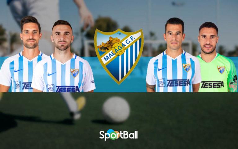 Jugadores y plantilla del Málaga 2019-2020