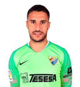 Jugadores y plantilla del Málaga 2019-2020 - Munir