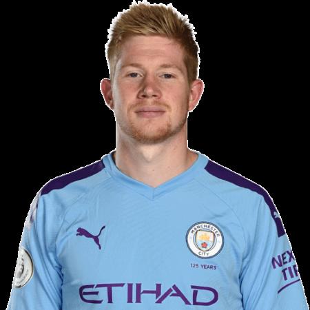 Jugadores y plantilla del Manchester City 2019-2020 - De Bruyne