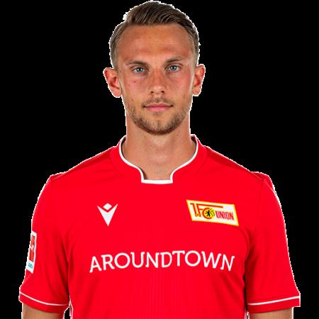 Jugadores y plantilla del Union Berlin 2019-2020 - Marcus Ingvartsen