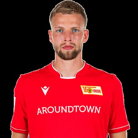 Jugadores y plantilla del Union Berlin 2019-2020 - Marvin Friedrich