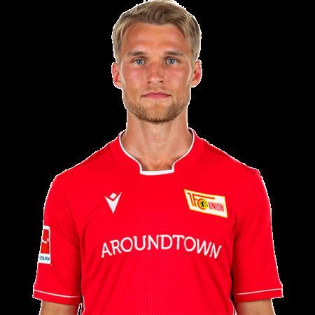Jugadores y plantilla del Union Berlin 2019-2020 - Sebastian Andersson