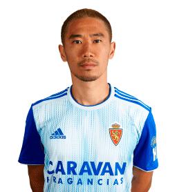 Jugadores y plantilla del Zaragoza 2019-2020 - Shinji Kagawa