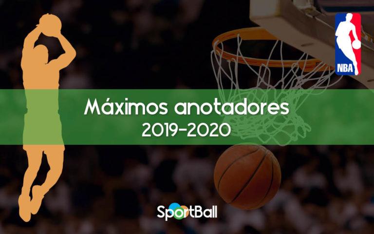 Los máximos anotadores de la NBA 2019-2020