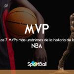Los 7 MVPs más unánimes de la historia de la NBA