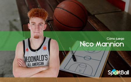 Cómo juega Nico Mannion