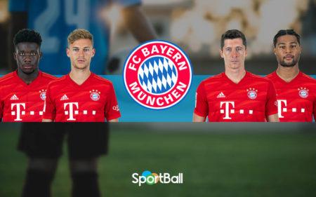 Jugadores y plantilla del Bayern Munich 2019-2020