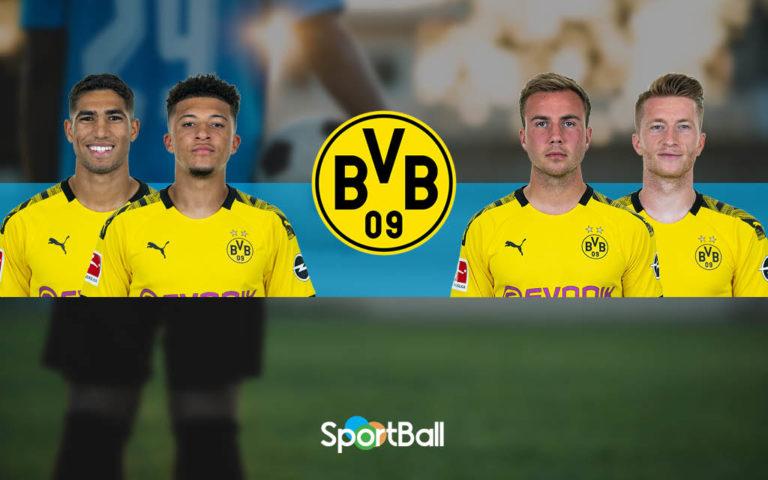 Plantilla del Borussia Dortmund 2019-2020