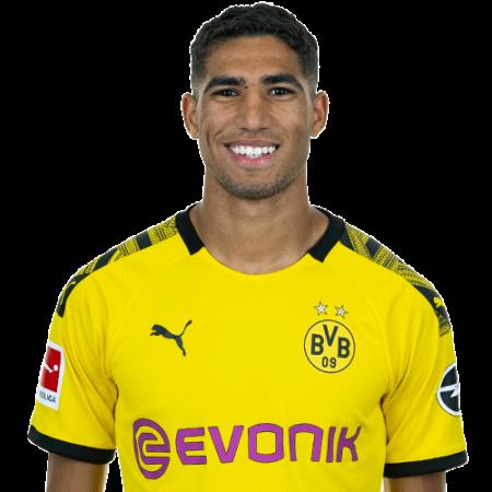 Plantilla del Borussia Dortmund 2019-2020 - Achraf Hakimi
