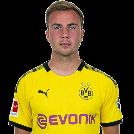 Plantilla del Borussia Dortmund 2019-2020 - Mario Gotze