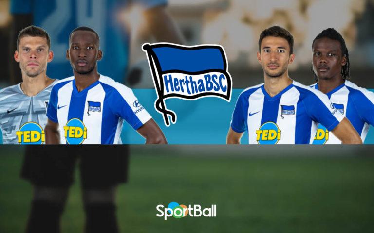 Jugadores y plantilla del Hertha Berlín 2019-2020