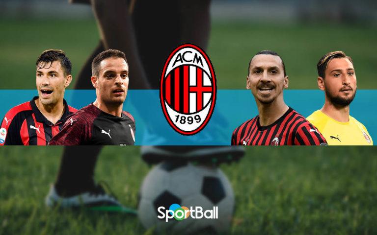 Plantilla del Milan 2019-2020