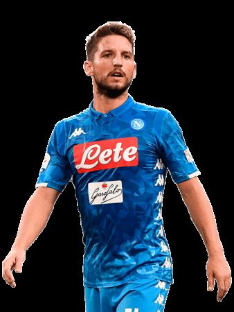 Plantilla del Nápoles 2019-2020 - Dries Mertens