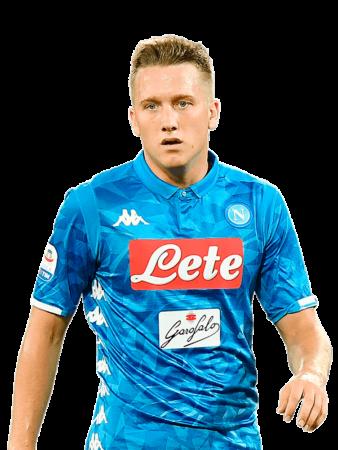 Plantilla del Nápoles 2019-2020 - Zielinski